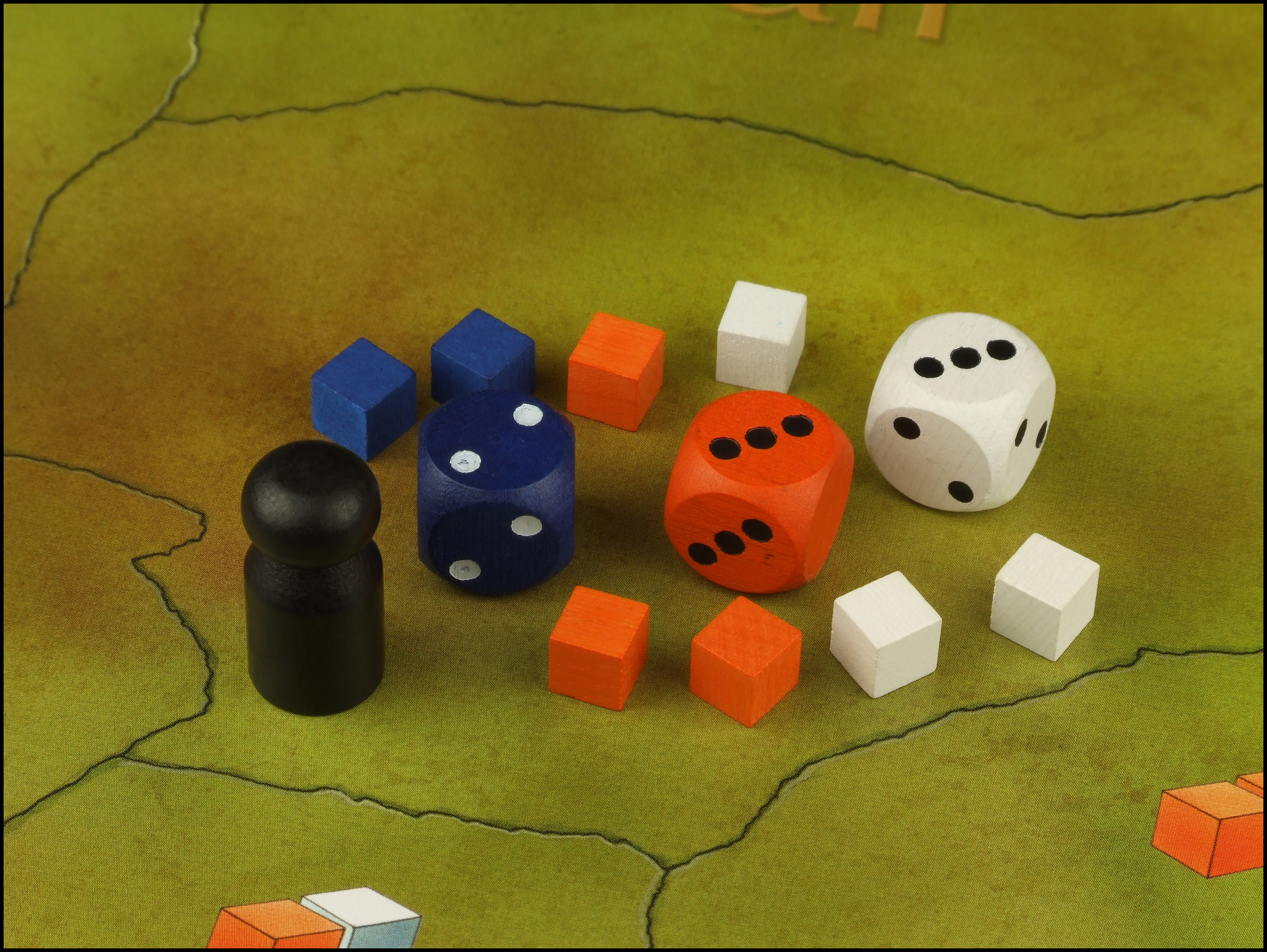 Tinner's Trail - Dice And Cubes