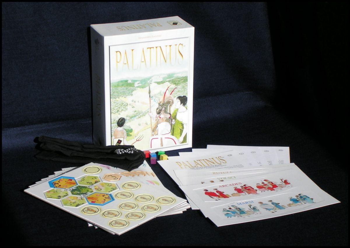 Palatinus - Box Contents