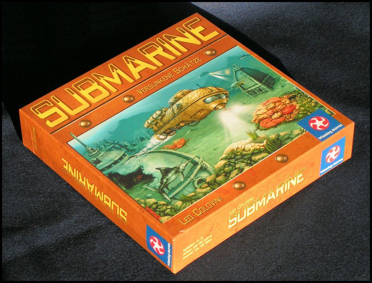 Submarine - Game Box