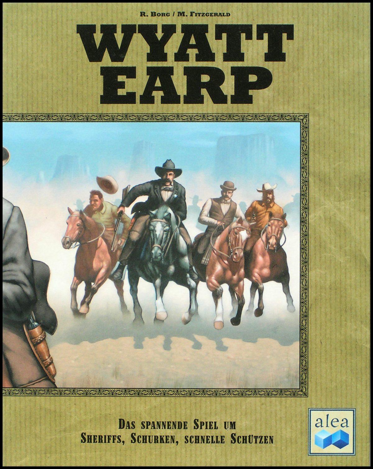 Wyatt Earp - Front Of The Box