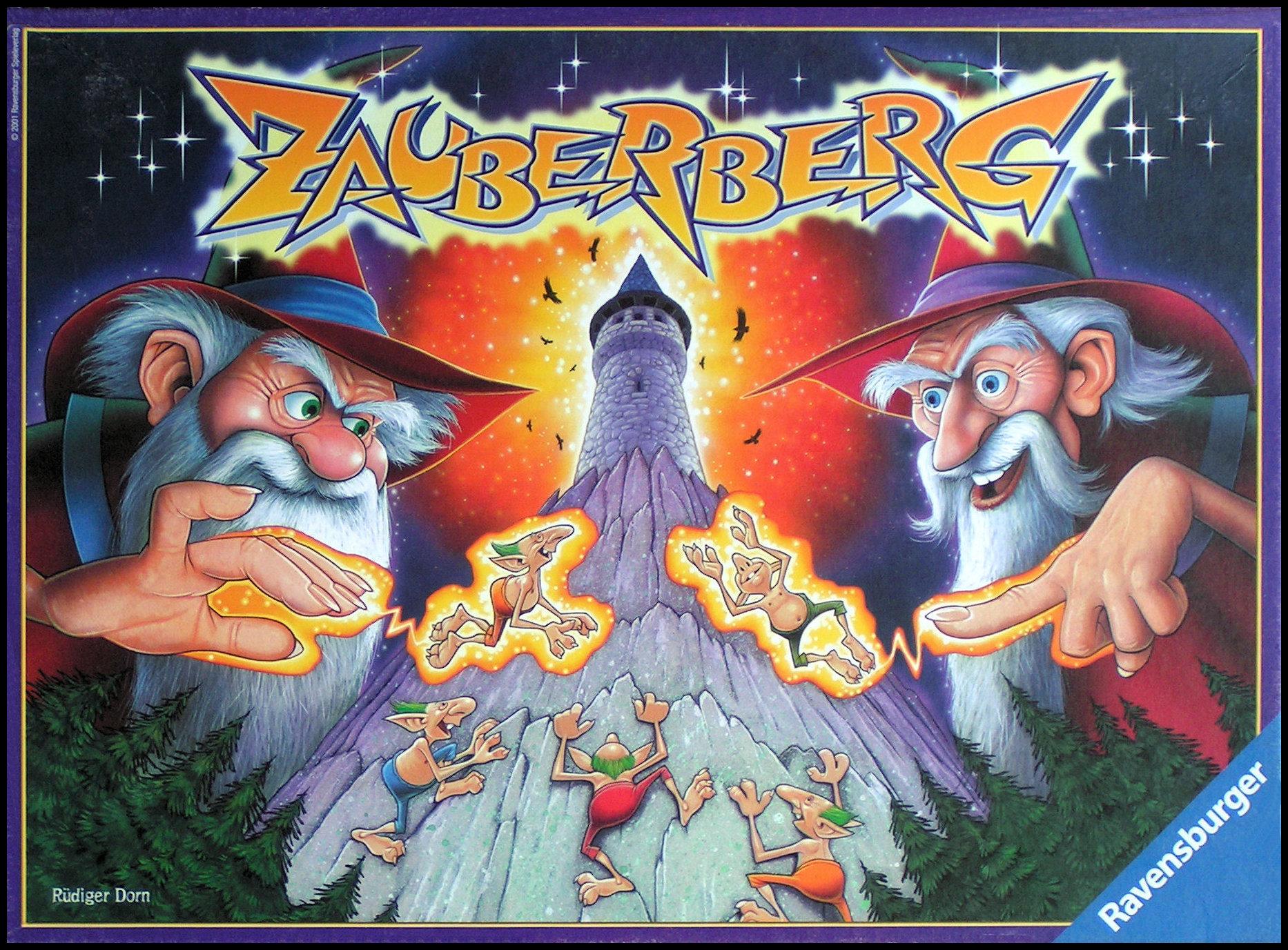Zauberberg - The Box Front