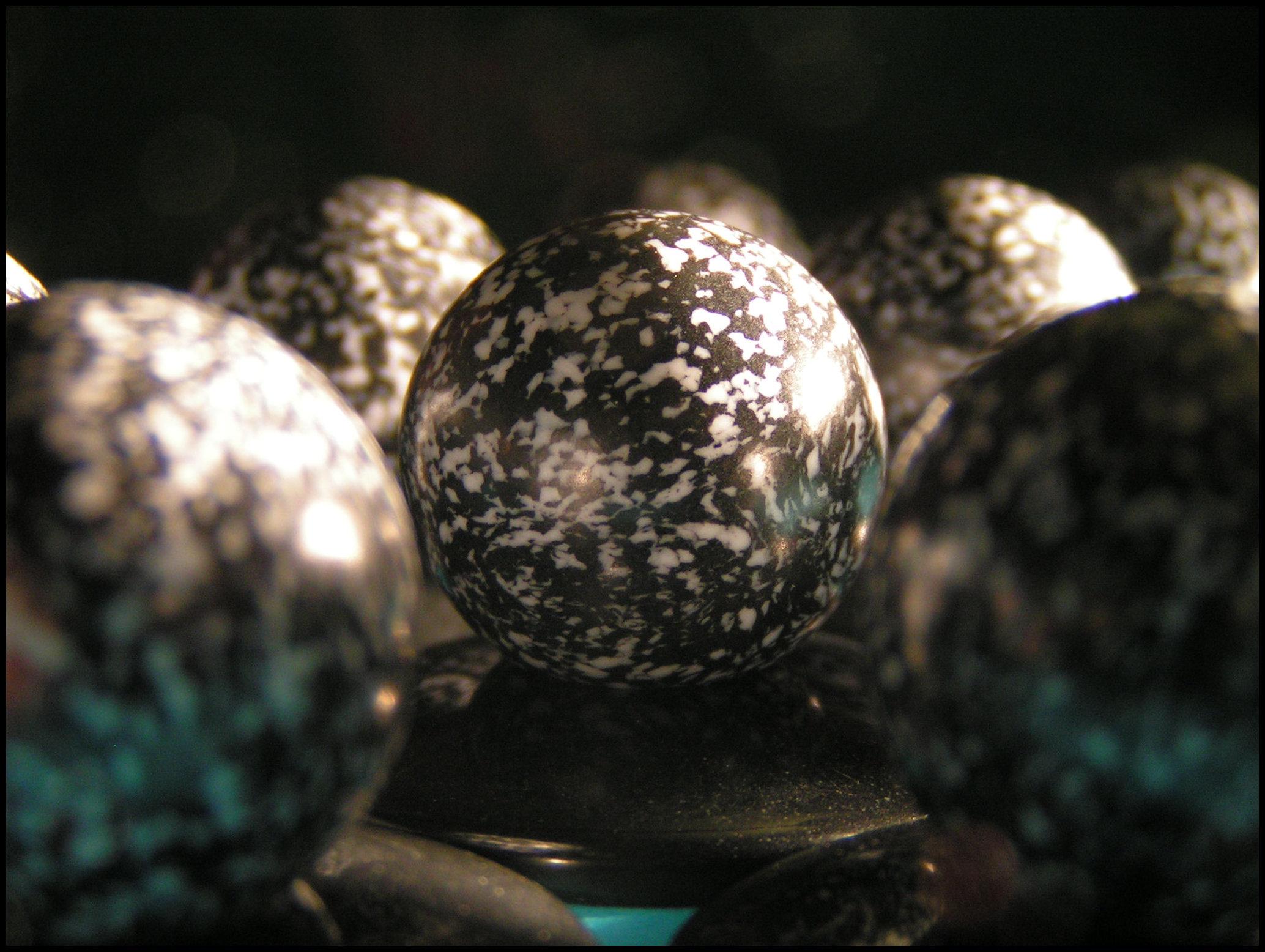 Zertz - Black Marble