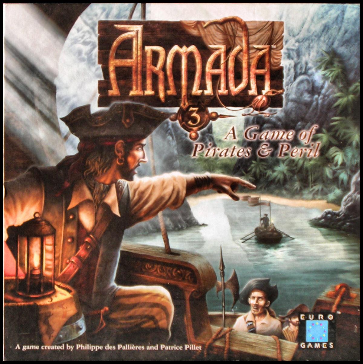 Armada 3 - Box Front