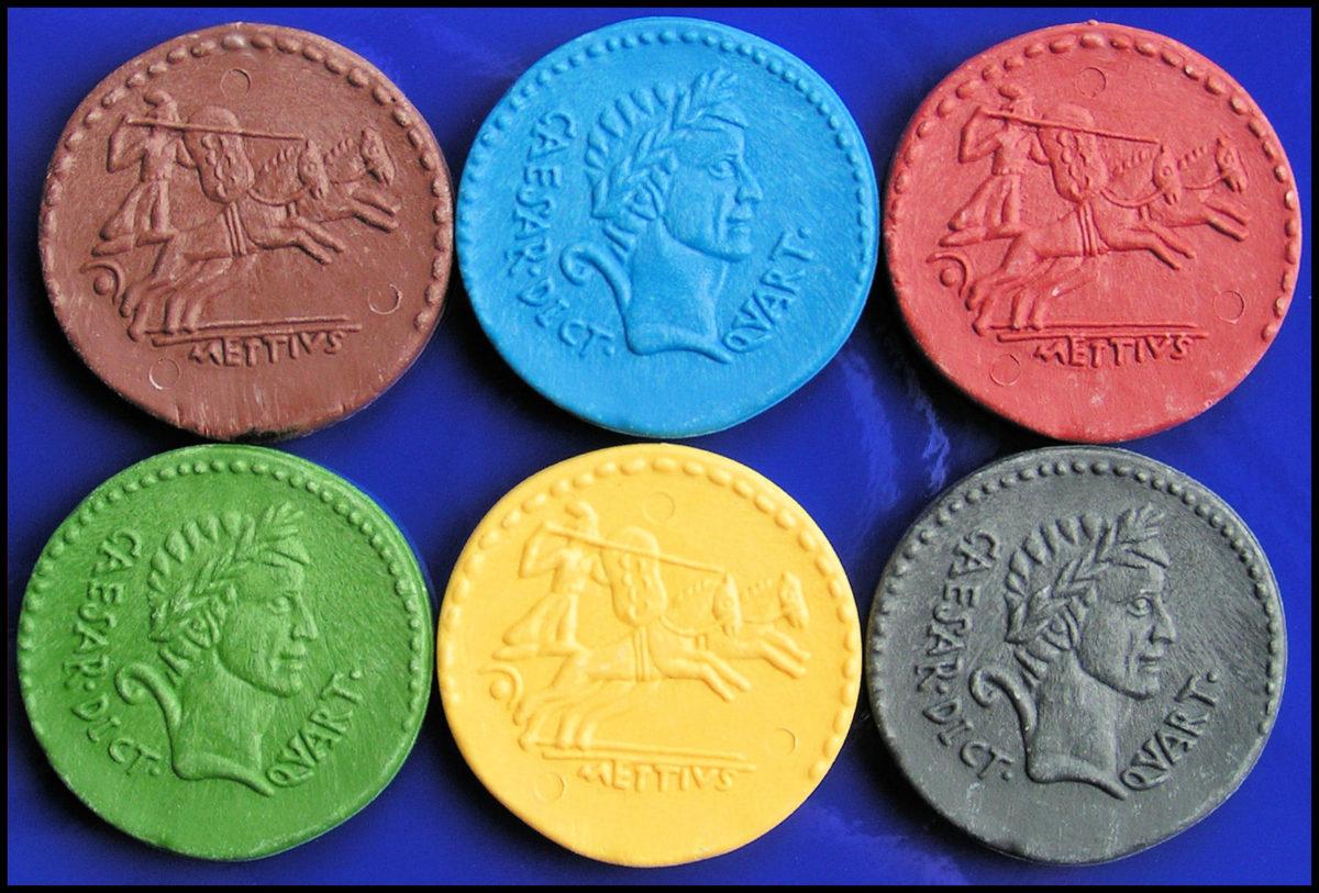 Ave Caesar - The Six Denari Colours