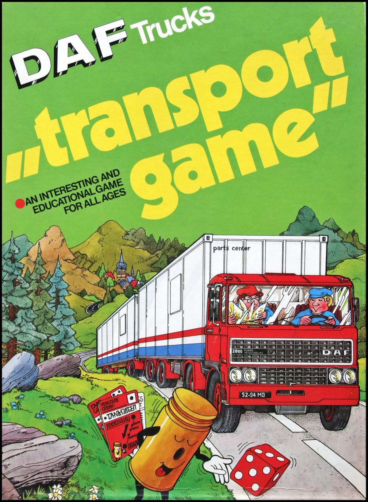 DAF Transport Game - Box Front