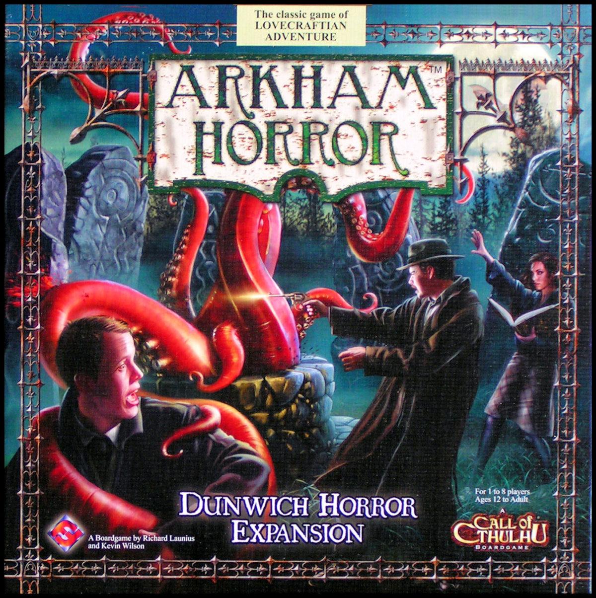 Arkham Horror: Dunwich Horror Expansion - Box Front