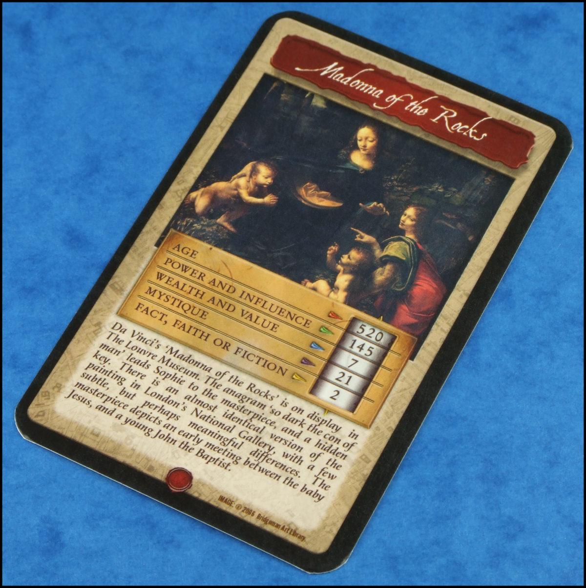 The Da Vinci Code - Sample Card